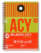Acy Atlantic City Luggage Tag I Spiral Notebook