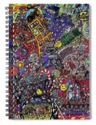 Admit Two Movie Marathon Spiral Notebook