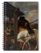 Adoracion De Los Reyes Magos   Spiral Notebook