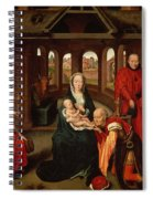 Adoration Of The Kings Spiral Notebook