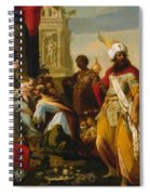 Adoration Of The Magi 1624 Spiral Notebook