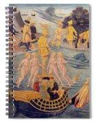 Adventures Of Ulysses, Detail Spiral Notebook