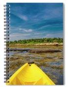Adventurous Kayak In Maine Spiral Notebook
