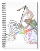 Aerial Hoop Dancing Ribbons For Her Hair Png Spiral Notebook