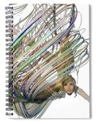 Aerial Hoop Dancing Whirlwind Of Hair Png Spiral Notebook