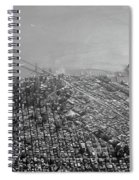 Aerial View Of Downtown San Francisco From The Air Spiral Notebook