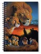 African Cats Spiral Notebook