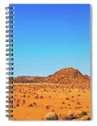 African Desert Panorama Spiral Notebook