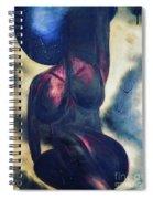 Afrocelestial Spiral Notebook