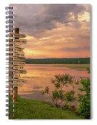 After A June Thunderstorm Spiral Notebook