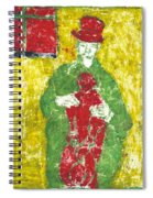 After Billy Childish Painting Otd 23 Spiral Notebook