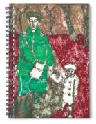 After Billy Childish Painting Otd 45 Spiral Notebook