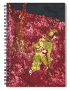 After Billy Childish Painting Otd 7 Spiral Notebook