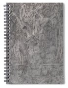 After Billy Childish Pencil Drawing 1 Spiral Notebook