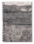 After Billy Childish Pencil Drawing 18 Spiral Notebook
