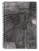 After Billy Childish Pencil Drawing 32 Spiral Notebook