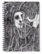 After Childish Edgeworth Pencil Drawing 10 Spiral Notebook