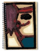 After Mikhail Larionov Oil Painting 1 Spiral Notebook