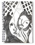 After Mikhail Larionov Pencil Drawing 14 Spiral Notebook
