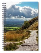 After The Rain On The Trail Spiral Notebook
