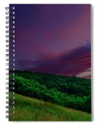 After The Storm Afterglow Spiral Notebook