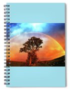 After The Storm, California Foothills                        Spiral Notebook
