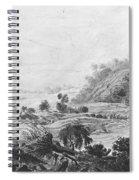 After The Tornado  Pavel Petrovich Svinin 1787 88-1839 Spiral Notebook