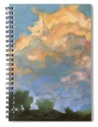 Afternoon Clouds Spiral Notebook