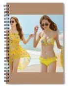 Aging Standard Skin Service Tips Spiral Notebook
