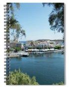 Agios Nikolaos Crete Spiral Notebook