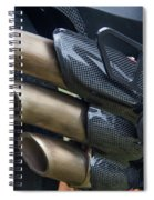 Agusta Racer Pipes Spiral Notebook