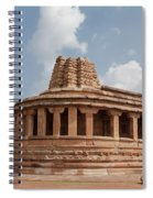 Aihole,durga Temple Spiral Notebook