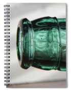 Air Bubbles In Vintage Glass Spiral Notebook