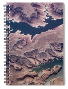 Air View Of The Colorado River Spiral Notebook