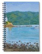 Akaroa Yacht Club Spiral Notebook
