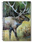 Alaska Elk Spiral Notebook