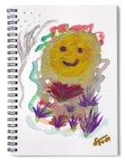 Alegria - Pintoresco Art By Sylvia Spiral Notebook