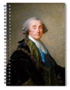 Alexandre Charles Emmanuel De Crussol Florensac        Spiral Notebook