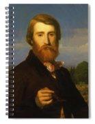 Alfred Bruyas Spiral Notebook