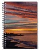All Saints Day Sunrise Spiral Notebook