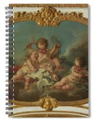 Allegory Of Lyric Poetry  Spiral Notebook