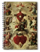 Allegory Of The Holy Eucharist Spiral Notebook