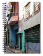 Alley In Cuba Spiral Notebook