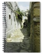 alley in Hammamet, Tunisia Spiral Notebook