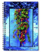 Alley-wall Paradise Spiral Notebook