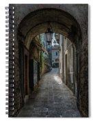 Alleys Of San Marino Spiral Notebook