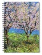 Almonds In Full Bloom Spiral Notebook