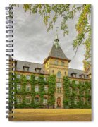Alnarp Castle Building Rear Spiral Notebook