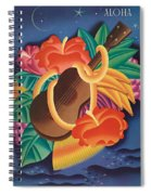 Aloha Welcome To Hawaii, 1932 Poster Spiral Notebook