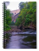 Along The Wissahickon At The Henry Avenue Bridge Spiral Notebook